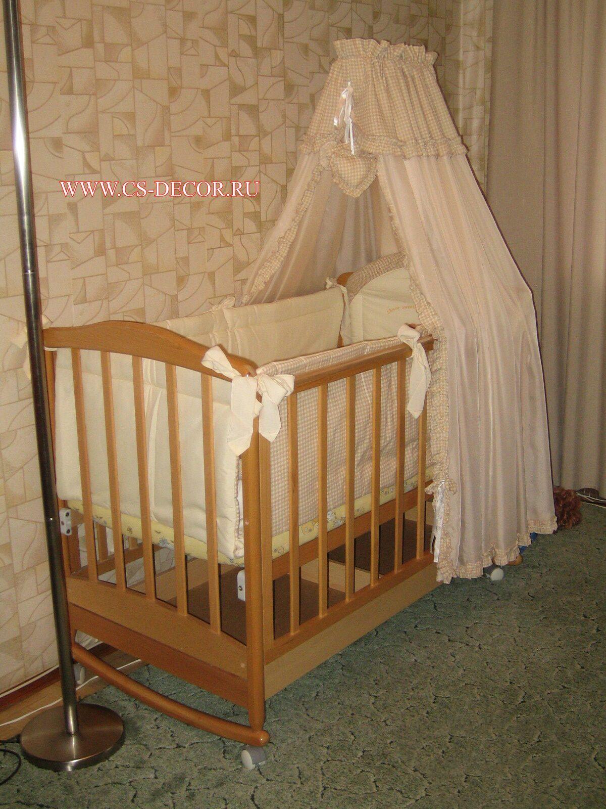 фото балдахин над детской кроватью