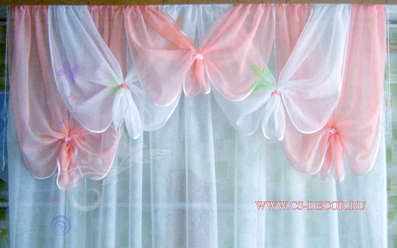 Как сделать шторы с ламбрекенами