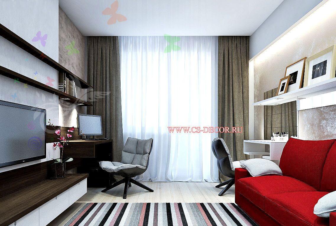 Дизайны комнат больших комнат минимализм